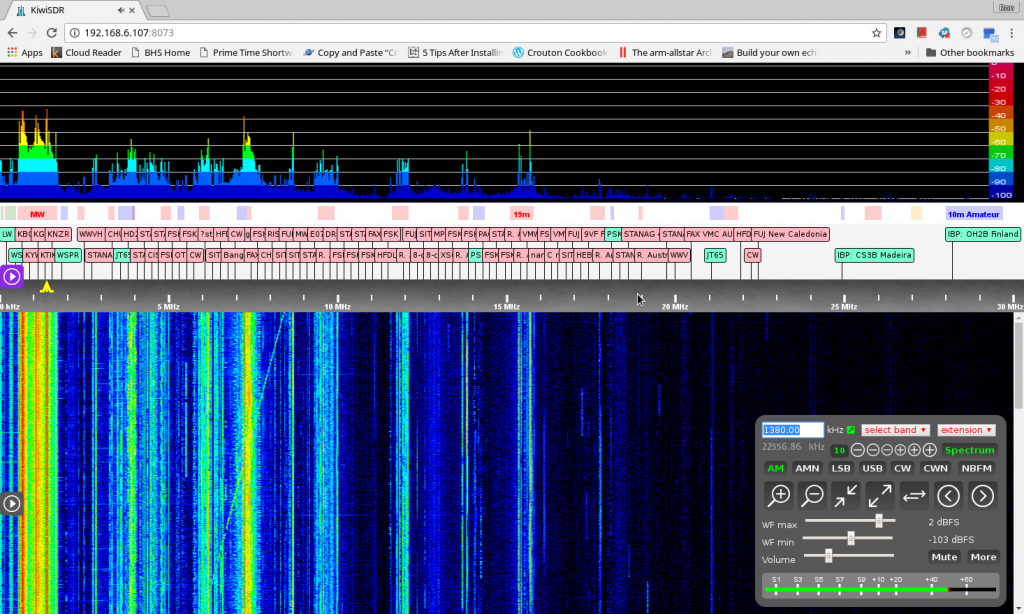 With Filter on 1380KHz