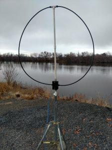 KA7U receive loop antenna, active loop antenna